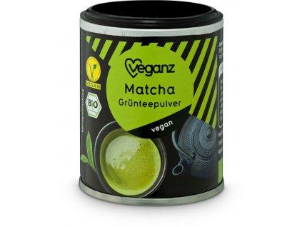 Veganz matcha, Bio