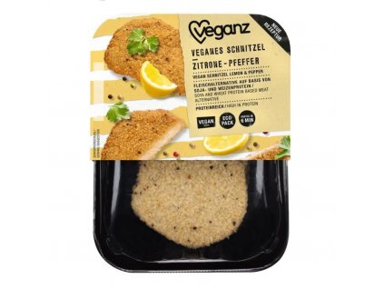 veganz citronovo peprovy rizek