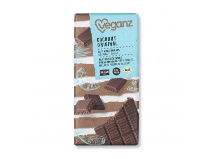 veganz kokosova cokolada original bio