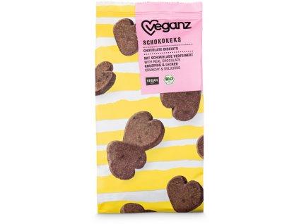 veganz cokoladove susenky bio