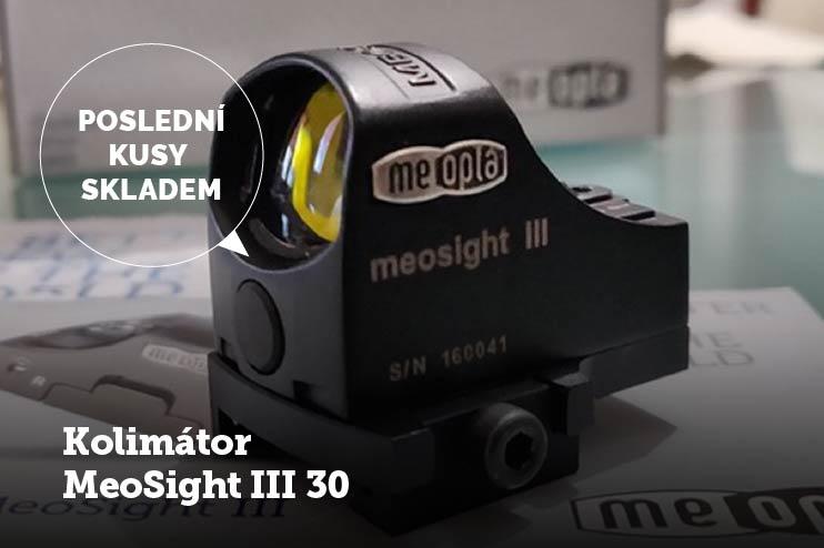 Kolimátor MeoSight III 30 skladem na shopu