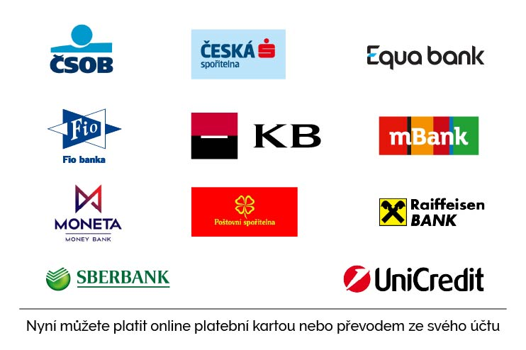 Plaťte online z vaší banky