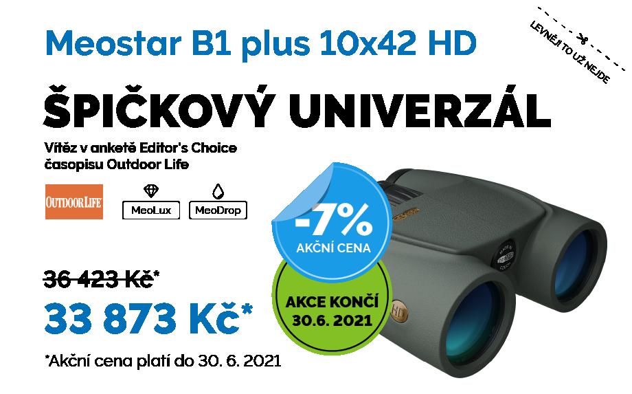 Meopta Meostar B1 plus 10x42 HD Akční cena