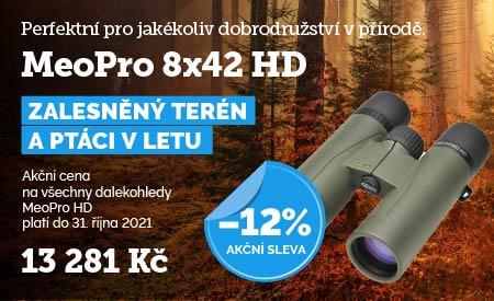 Dalekohled Meopta MeoPro 8x42 HD akce