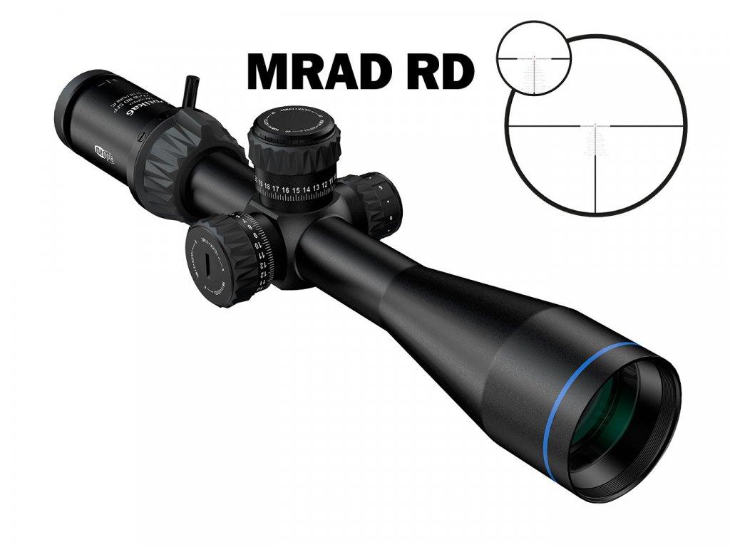 1027203 Puškohled Optika6 4 5 27x50 RD SFP MRAD RD