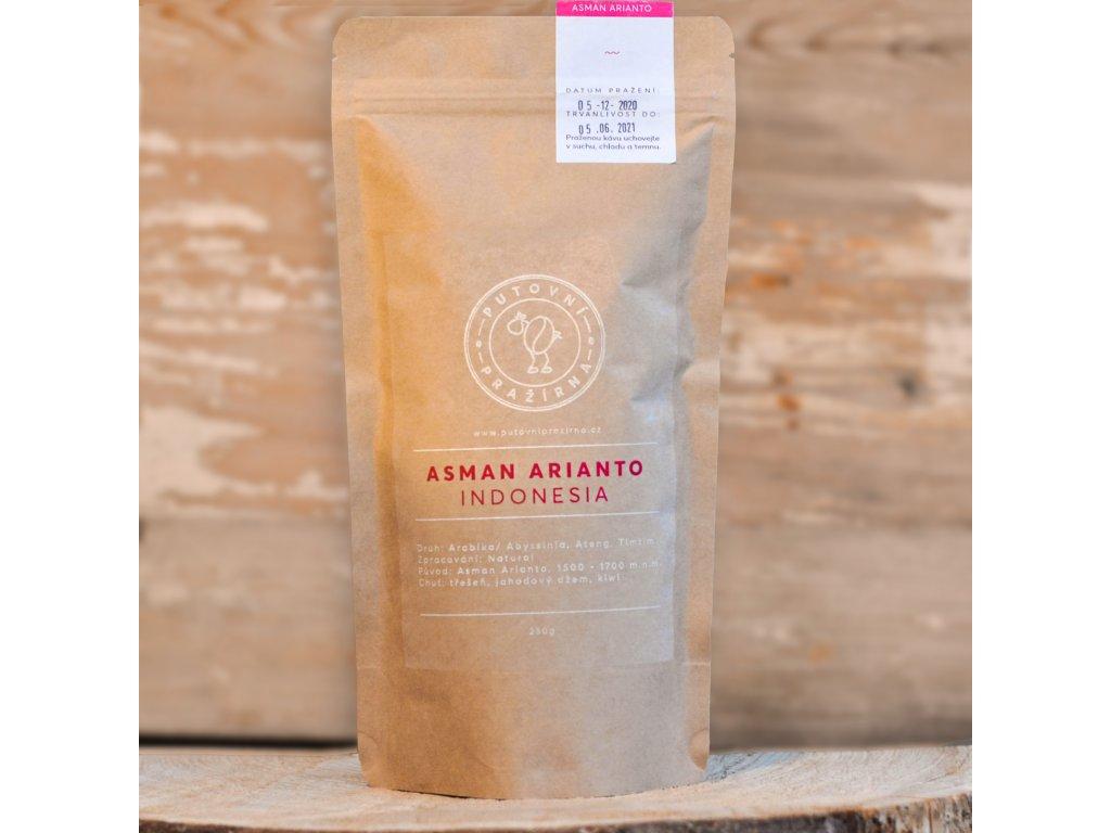 zrnkova kava arabica asman arianto indonesia
