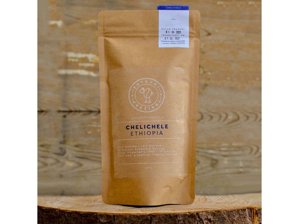 zrnkova kava chelichele ethiopia