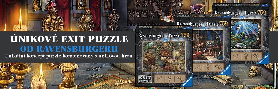 Únikové puzzle Ravensburger