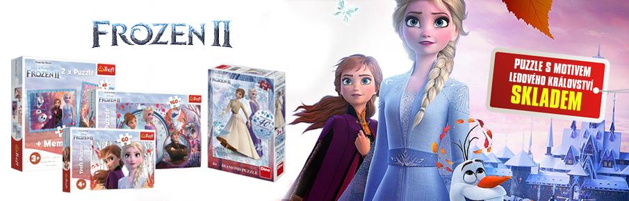 Puzzle s motivem Frozen
