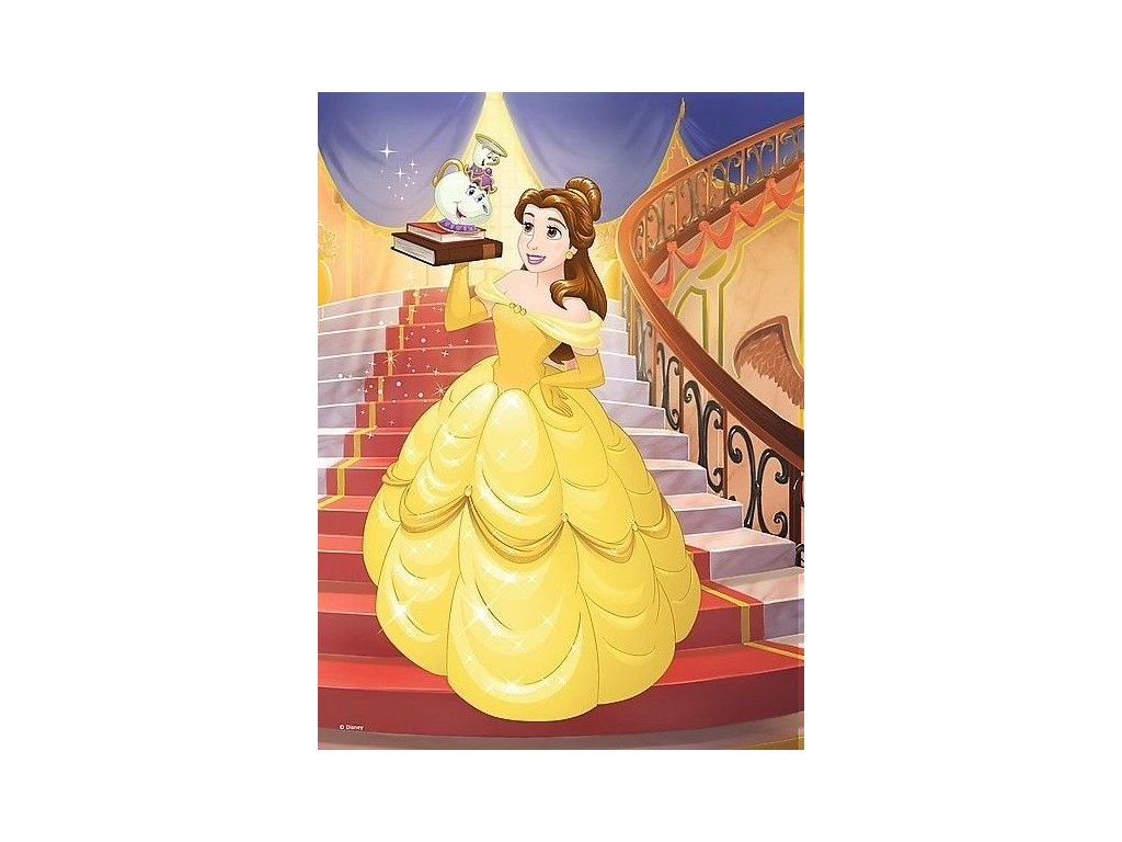 TREFL Puzzle Disney princezny: Bella 20 dílků