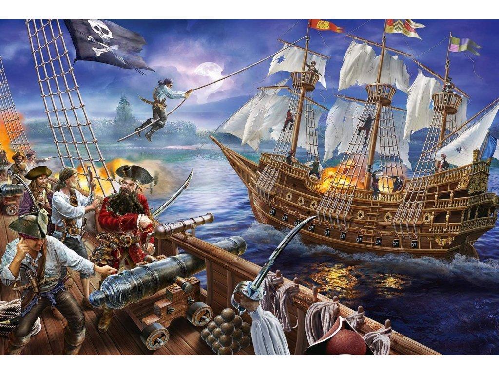 SCHMIDT Puzzle Pirátské dobrodružství 150 dílků