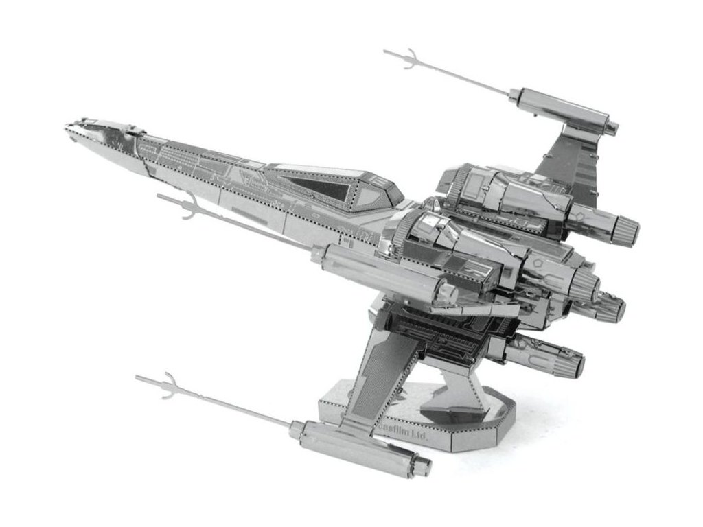METAL EARTH 3D puzzle Star Wars: Poe Dameron's X-Wing Fighter