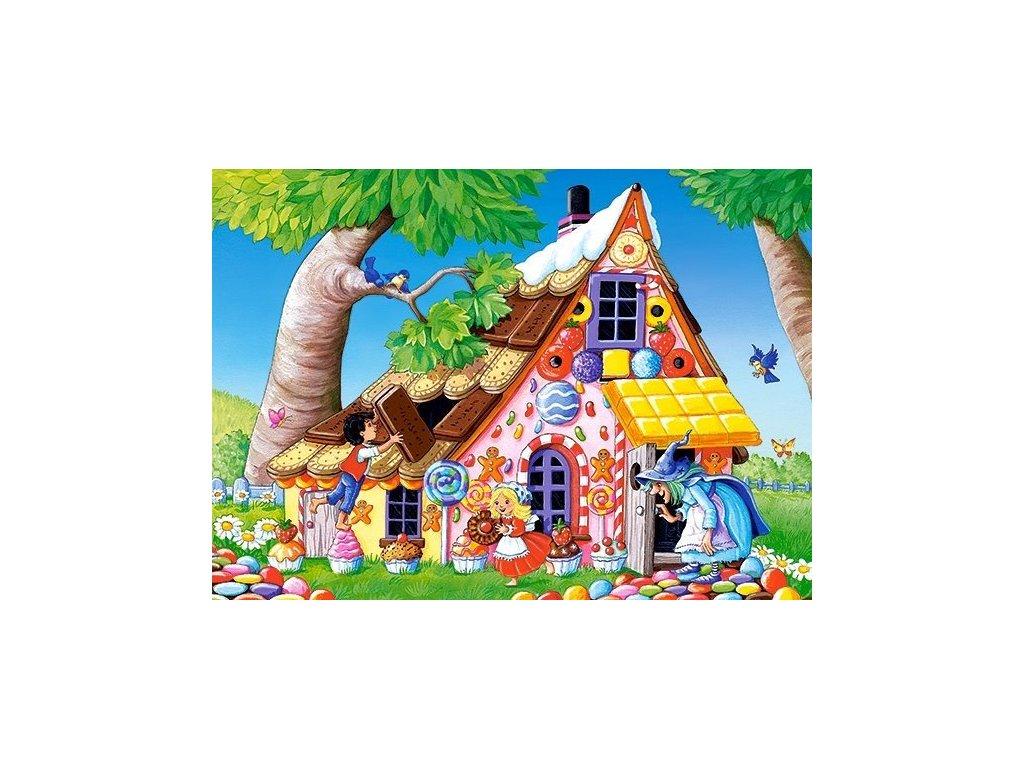 CASTORLAND Puzzle Jeníček a Mařenka 120 dílků