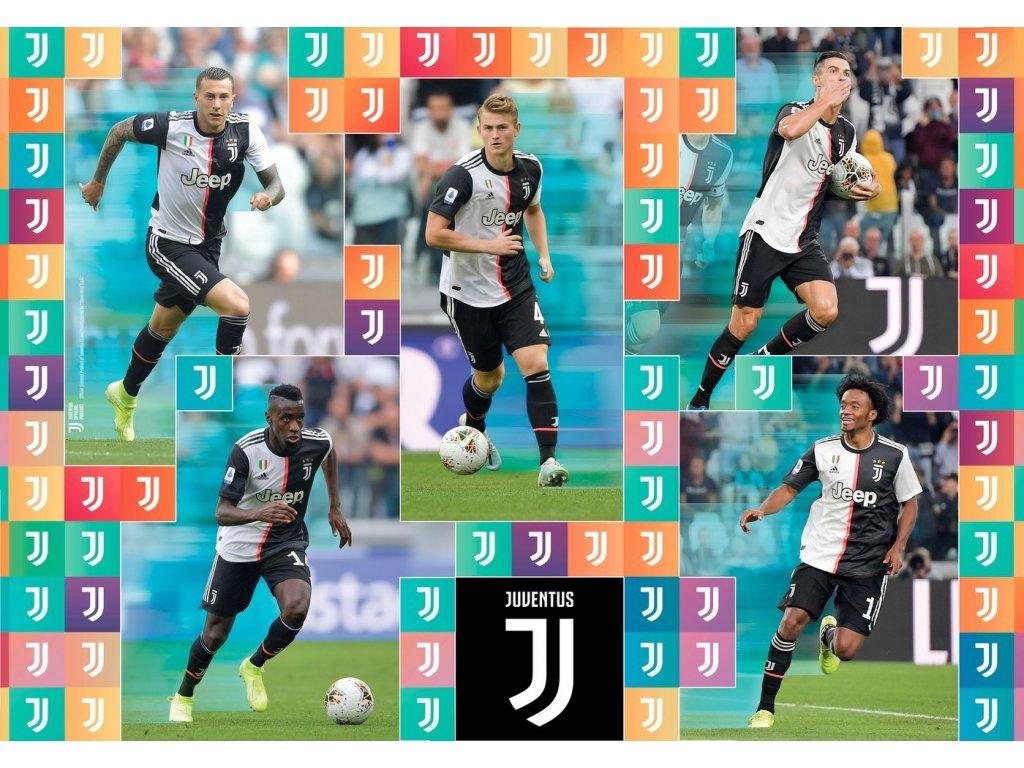 CLEMENTONI Puzzle Juventus 104 dílků