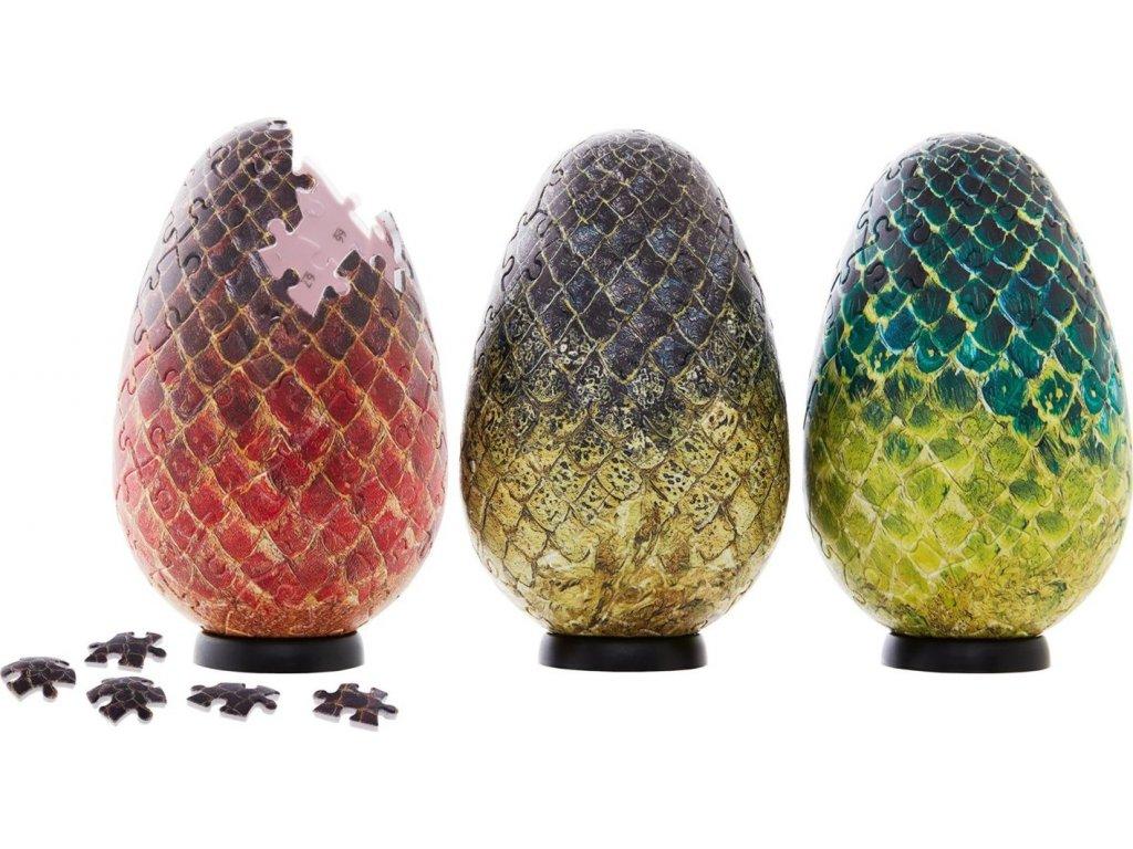 4D Cityscape 3D puzzle Hra o Trůny: Dračí vejce 240 dílků