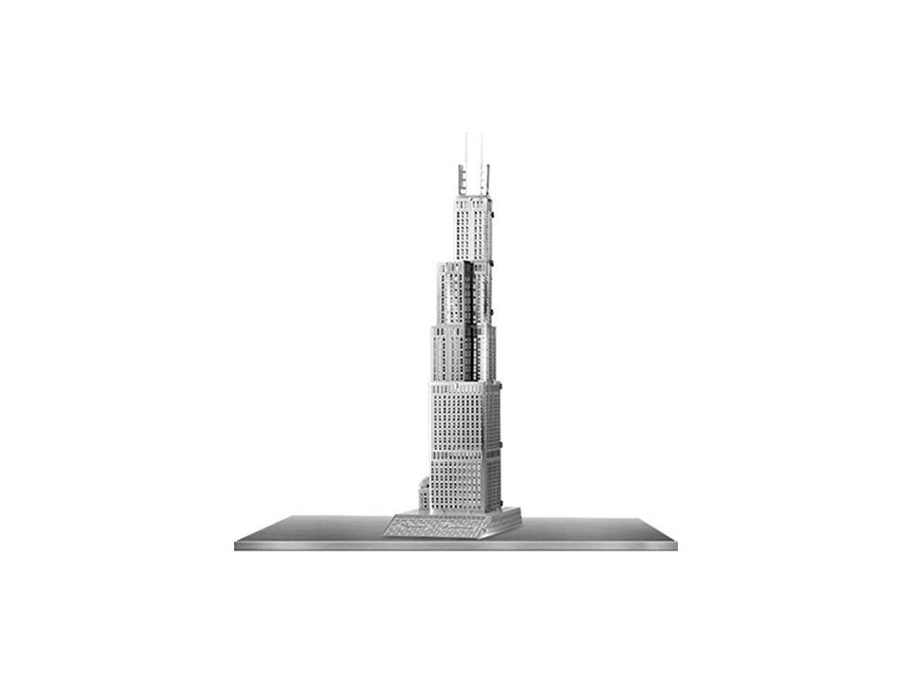 METAL EARTH 3D puzzle Sears Tower (Willis Tower) (ICONX)