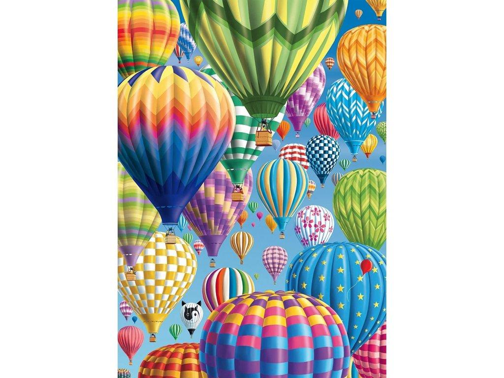 SCHMIDT Puzzle Nebe plné balónů 1000 dílků