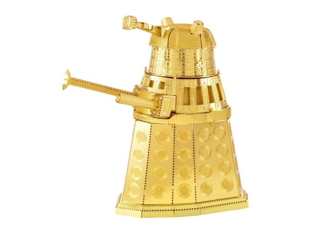 METAL EARTH 3D puzzle Doctor Who: Dalek (zlatý)