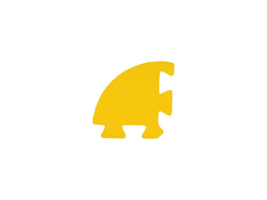 MALÝ GÉNIUS Rohový dílek silný (žlutý) - pro vlnu