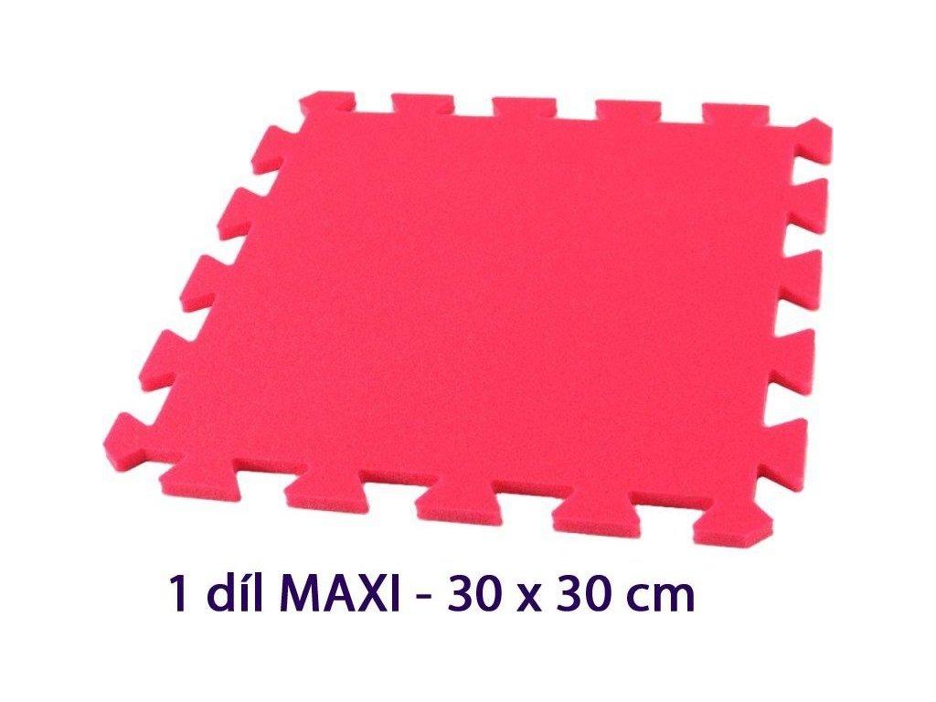 MALÝ GÉNIUS Samostatný díl MAXI 8mm (červený)