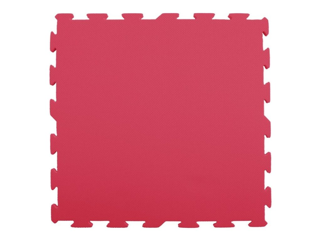 LC Pěnový koberec extra velký červený 0+