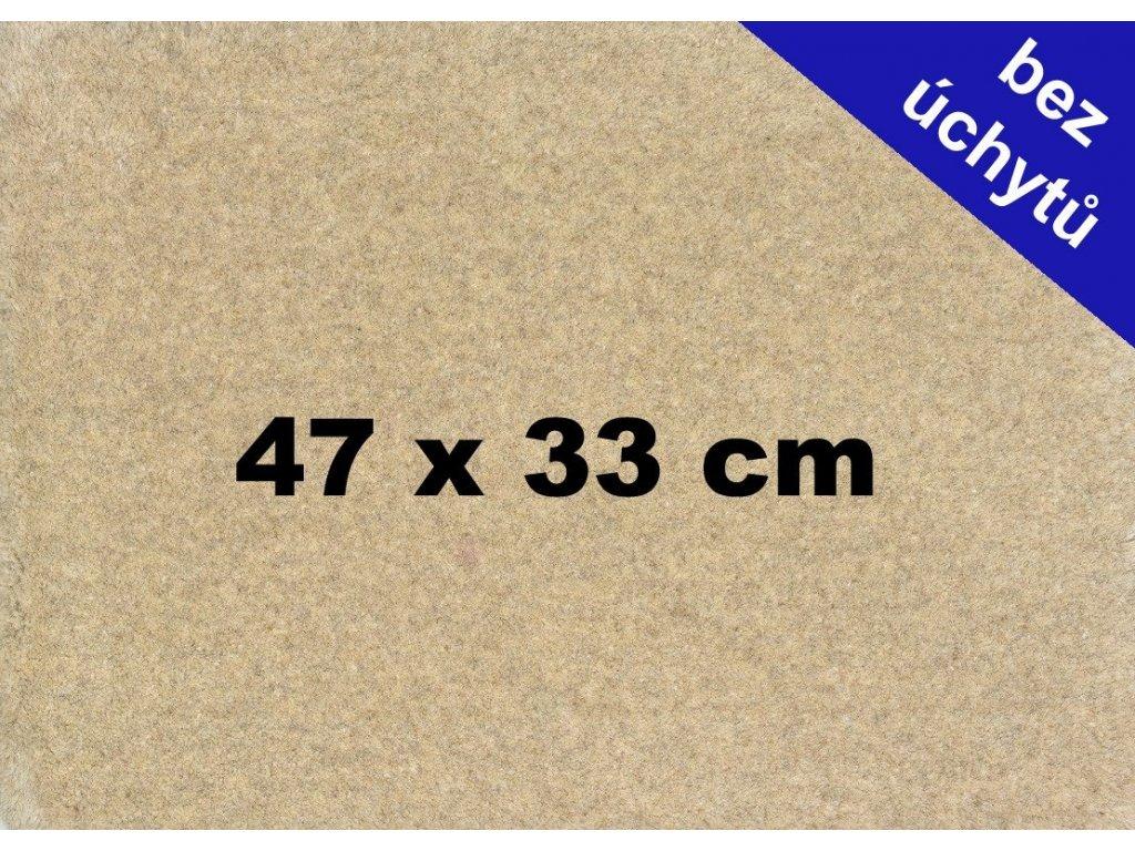 MDF deska na puzzle 47x33 cm bez úchytů