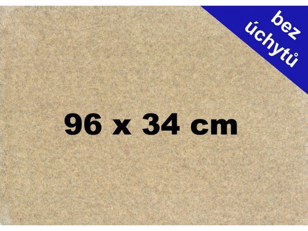 MDF deska na puzzle 96x34 cm bez úchytů