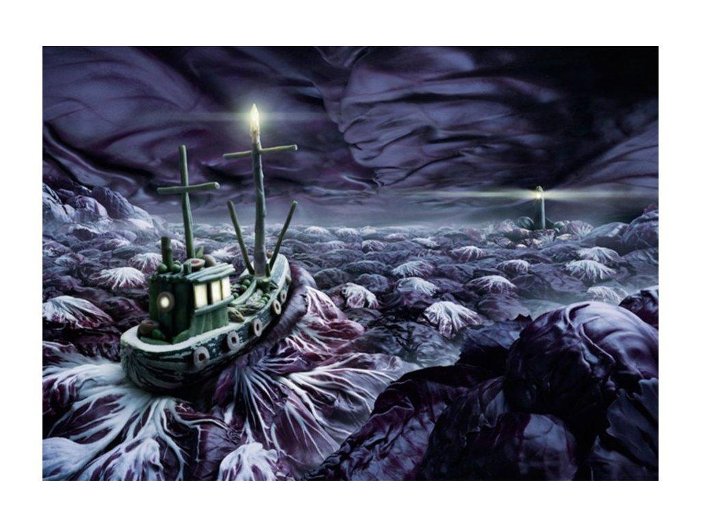 SCHMIDT Puzzle Rozbouřené moře 1000 dílků