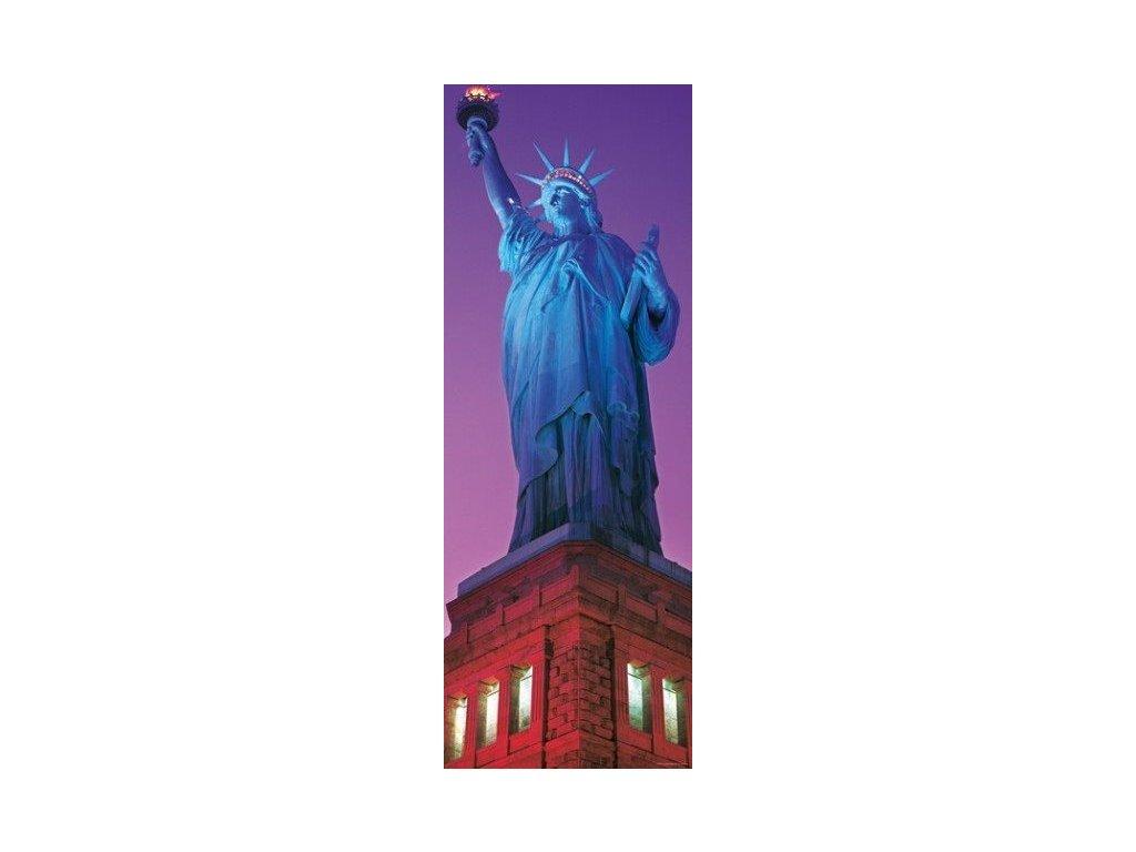 HEYE Vertikální puzzle Socha Svobody, New York 1000 dílků