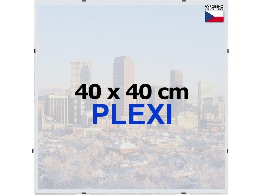 BFHM Rám Euroclip 40x40cm (plexisklo)