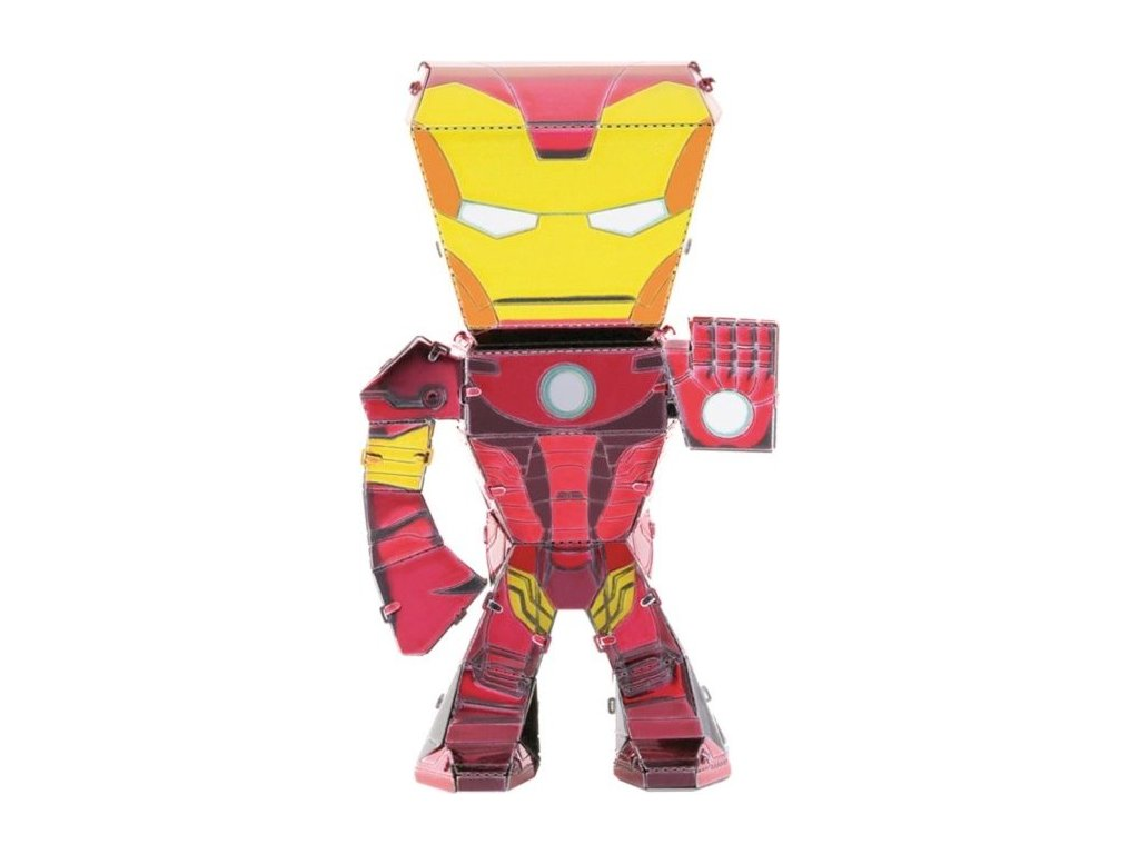 METAL EARTH 3D puzzle Avengers: Iron Man figurka