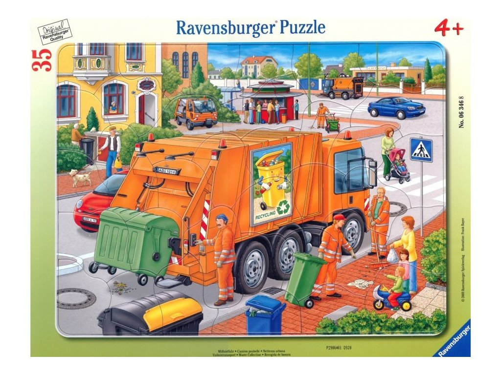 RAVENSBURGER Puzzle Popeláři 35 dílků