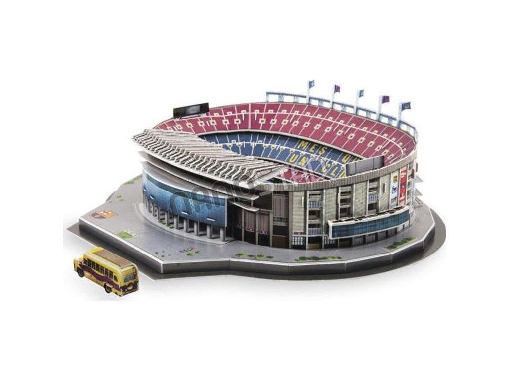 NANOSTAD 3D puzzle Stadion Camp Nou - FC Barcelona 109 dílků