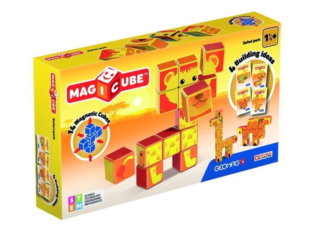 GEOMAG Magnetické kostky Magicube Safari