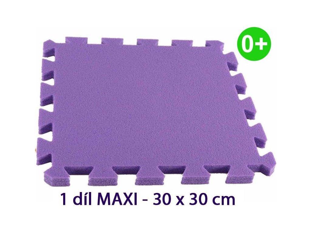 MALÝ GÉNIUS Samostatný díl MAXI silný 0+ (fialový)
