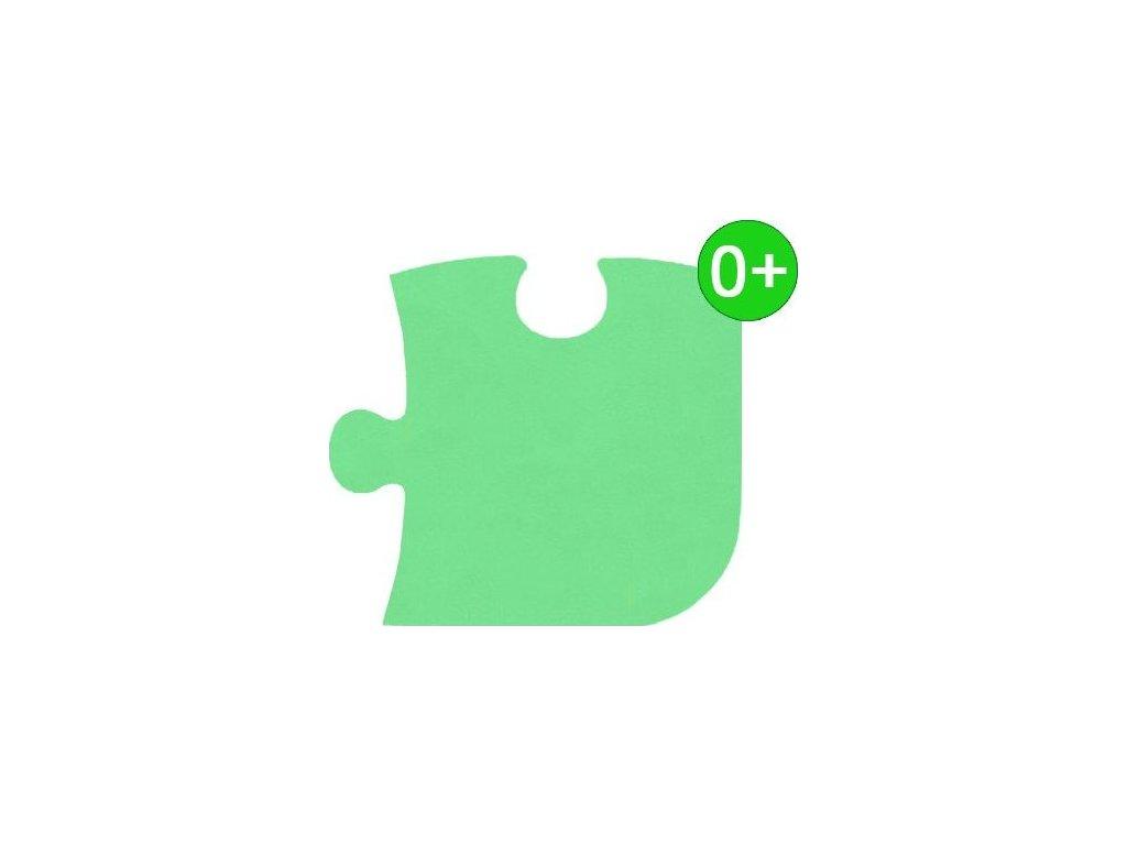 MALÝ GÉNIUS Rohový díl KLASIK silný 0+ (zelený)