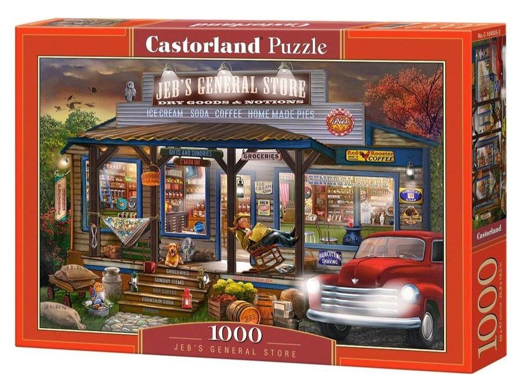 CASTORLAND Puzzle Smíšené zboží 1000 dílků