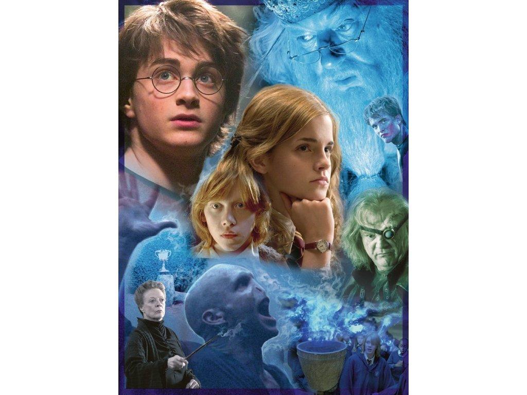 RAVENSBURGER Puzzle Harry Potter a Ohnivý pohár 500 dílků