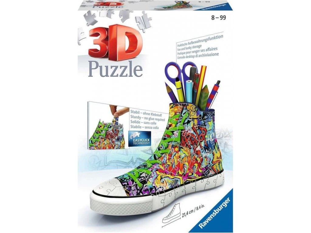 RAVENSBURGER 3D puzzle Kecka Graffiti 108 dílků