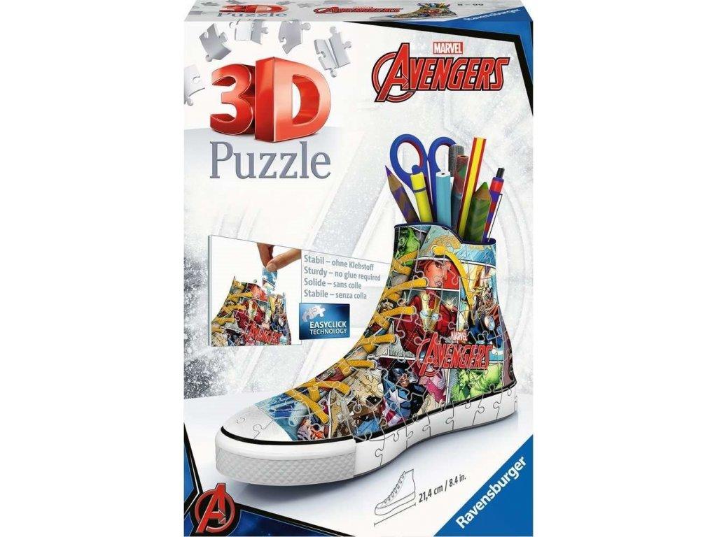 RAVENSBURGER 3D puzzle Kecka Avengers 108 dílků