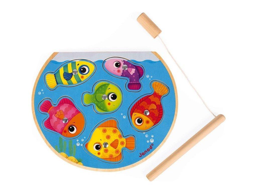 JANOD Magnetická vkládačka Rybolov