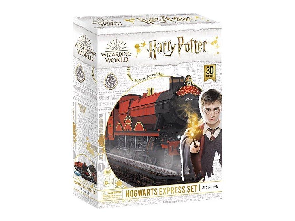 CUBICFUN 3D puzzle Harry Potter: Bradavický expres 180 dílků