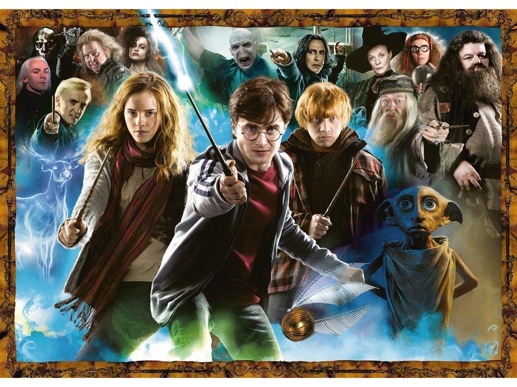 RAVENSBURGER Puzzle Harry Potter: Řád proti Smrtijedům 1000 dílků