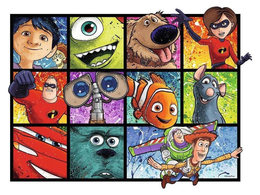 RAVENSBURGER Puzzle Kreslený svět Pixar 1000 dílků