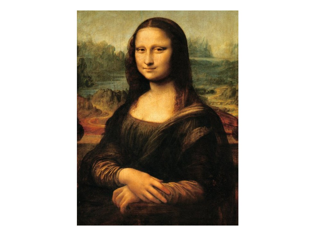 RAVENSBURGER Puzzle Mona Lisa 1000 dílků