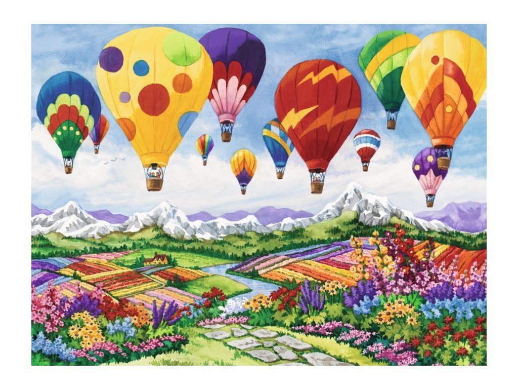 RAVENSBURGER Puzzle Jaro je ve vzduchu 1500 dílků