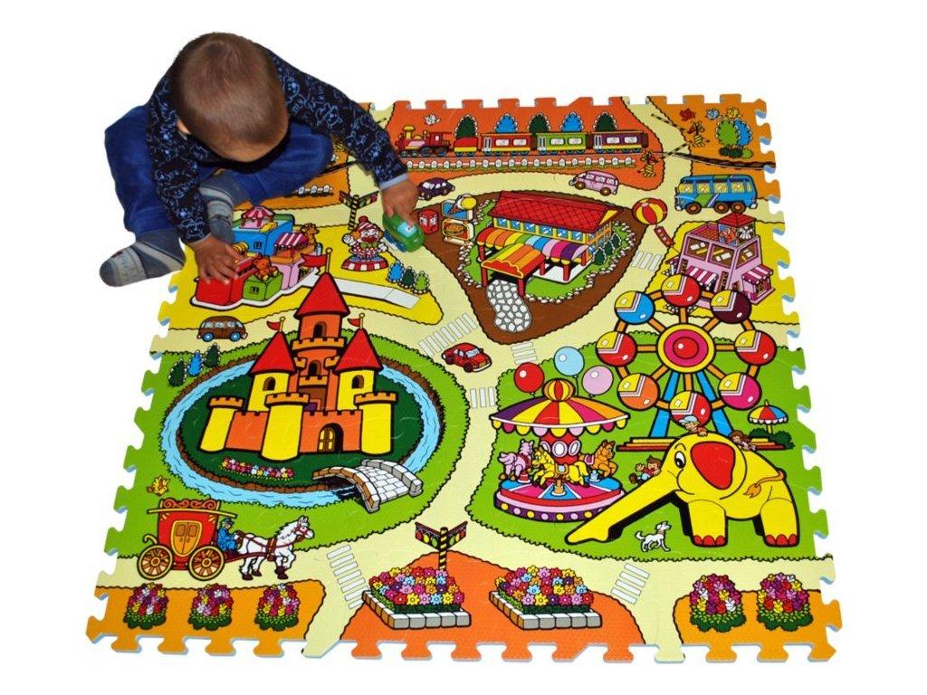 LC Pěnové puzzle Lunapark