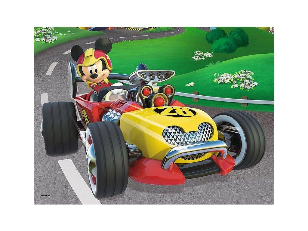 TREFL Puzzle Mickey Mouse: Závodník 20 dílků