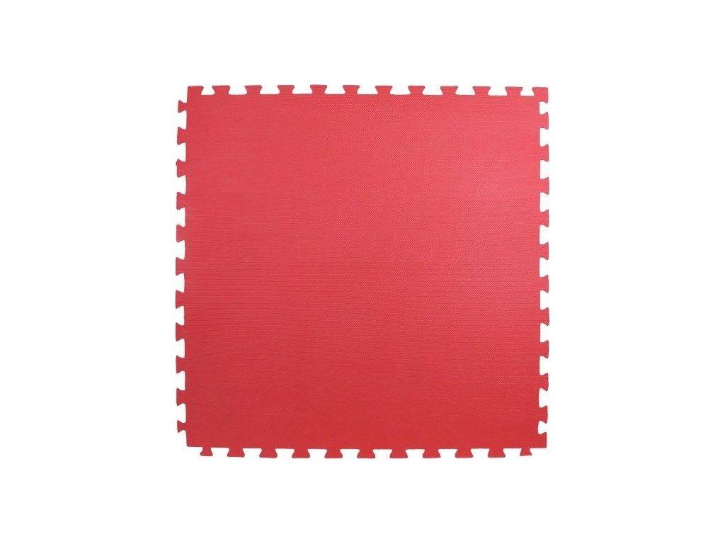 Pěnový koberec - červený 100x100x4cm
