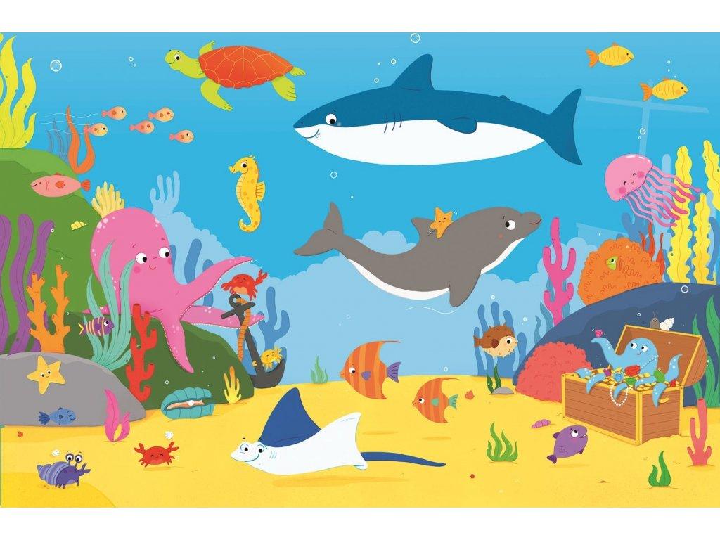 TREFL Puzzle Podmořský svět MAXI 15 dílků
